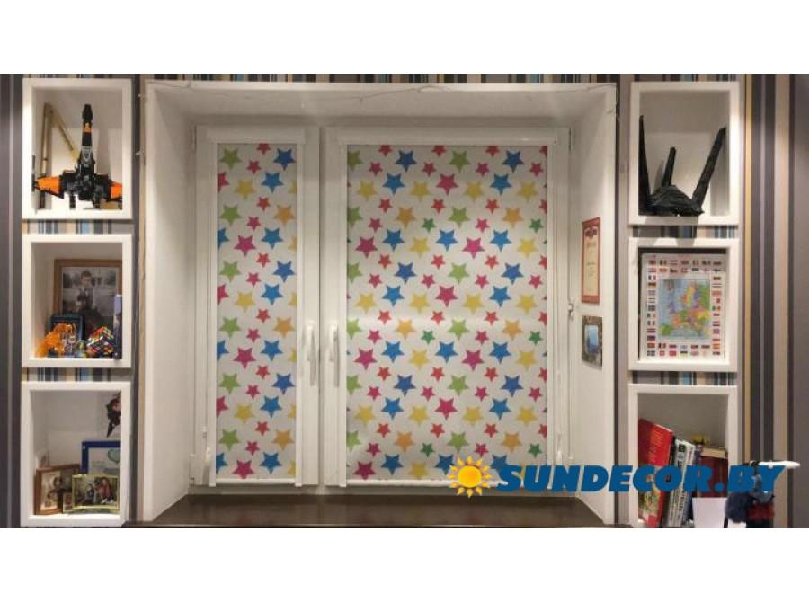 Рольшторы UNI2 для детской комнаты