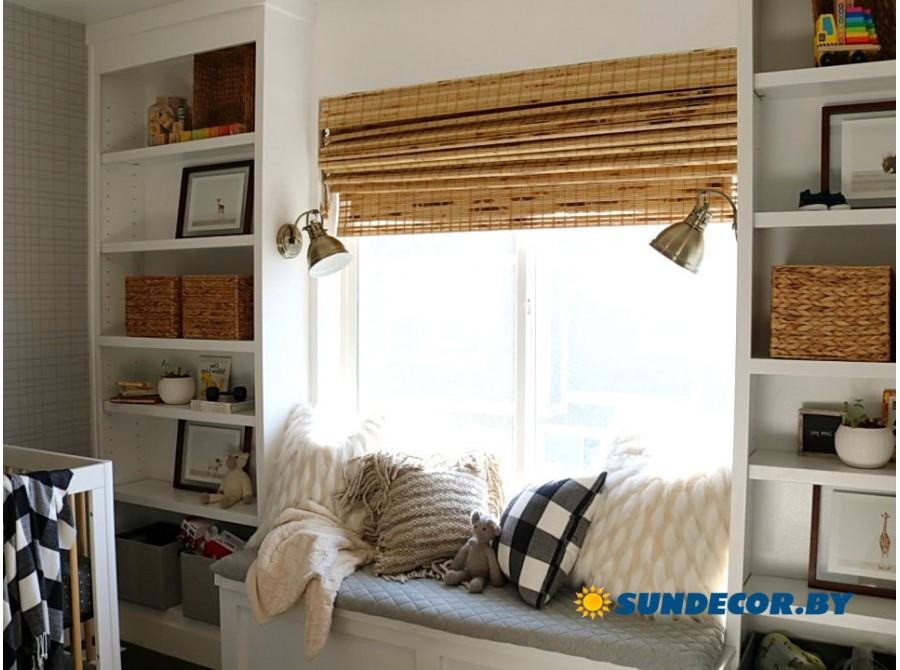 Римские бамбуковые шторы в детскую