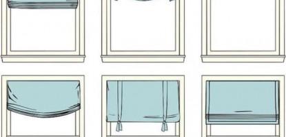 Римские шторы для квартиры, частного дома или офиса